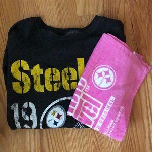 Steelers Crewneck Sweatshirt & Terrible Towel